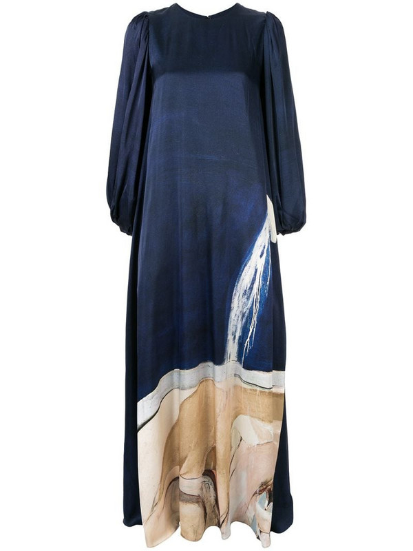 Aje Somerset gown in blue