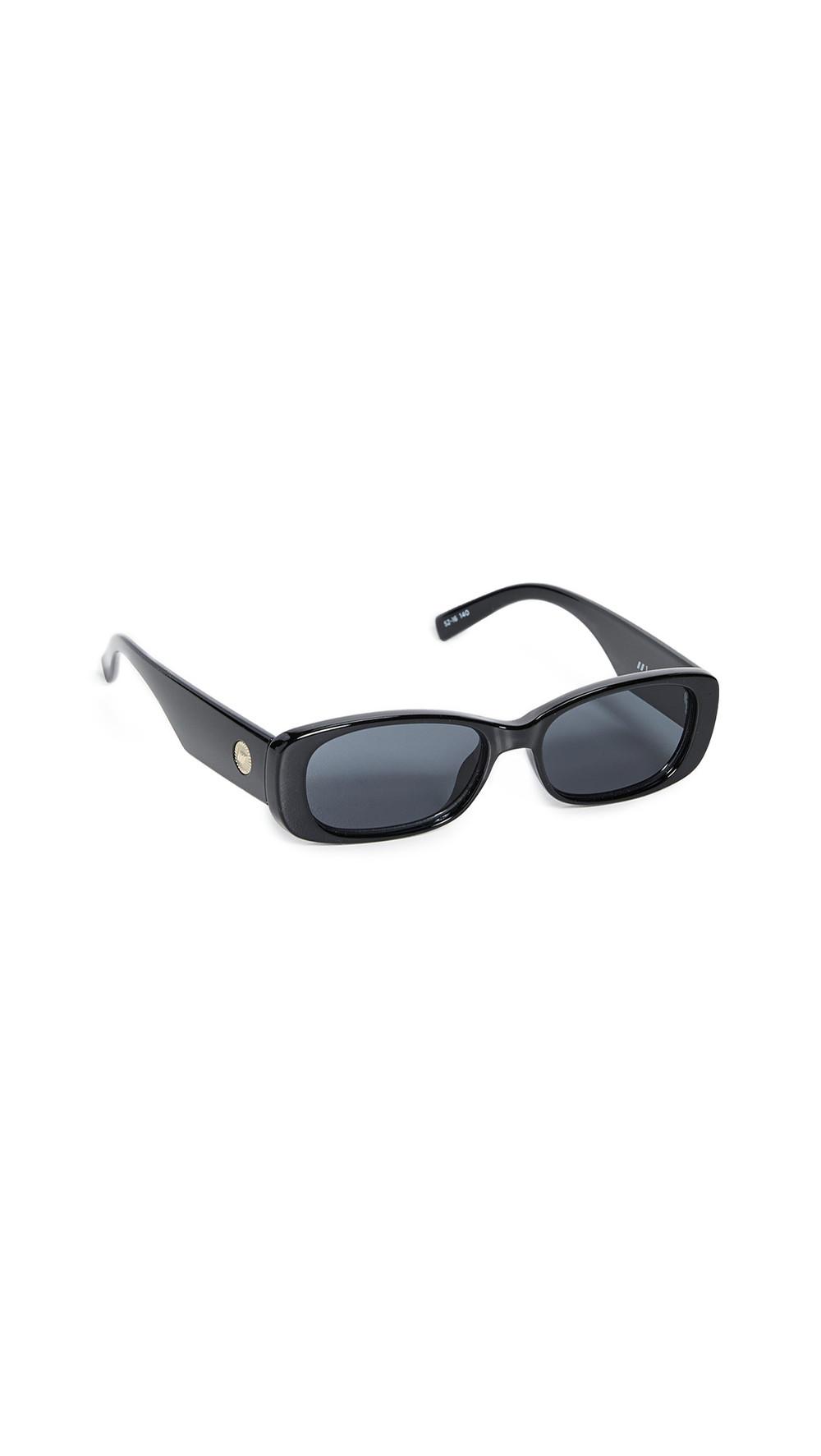Le Specs Unreal! Sunglasses in black