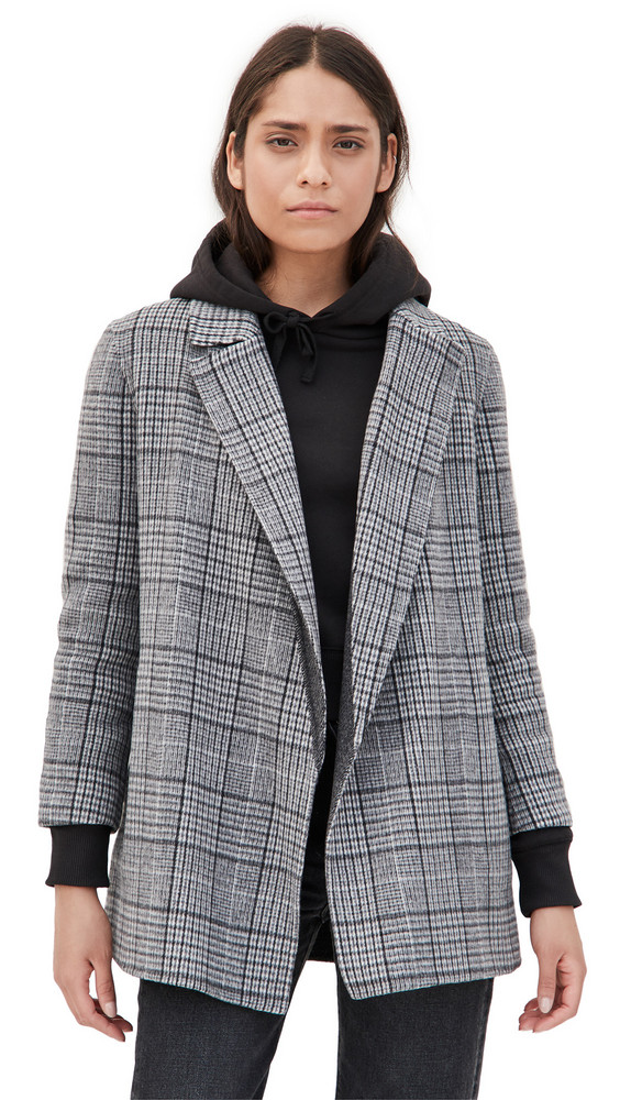 Theory Clairene N Blazer in grey / multi