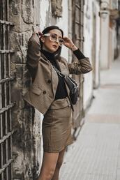 shoes and basics,blogger,jacket,sweater,skirt,shoes