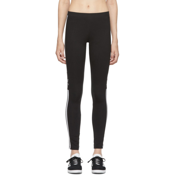 adidas Originals Black Trefoil Leggings
