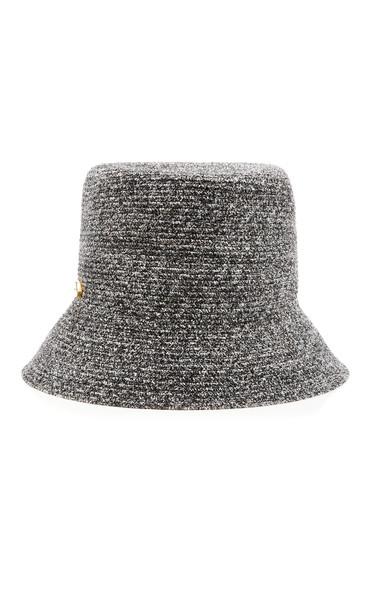Yestadt Millinery Alicia Chenille Bucket Hat in grey
