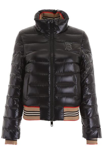 Burberry Hessle Puffer Jacket in black