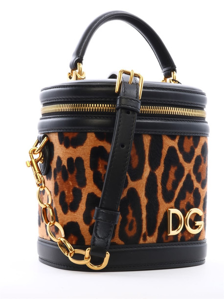 Dolce & Gabbana Bucket Bag Animal Print