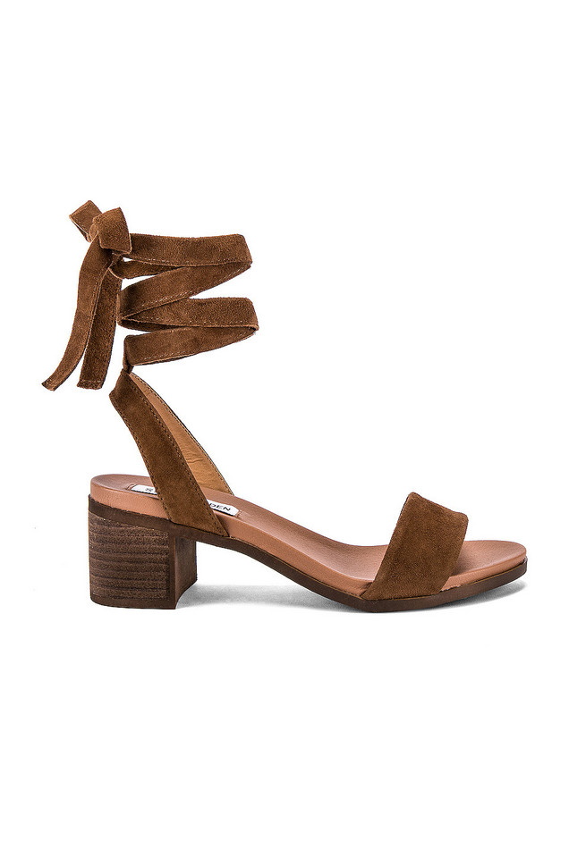 Steve Madden Adrianne Sandal in brown