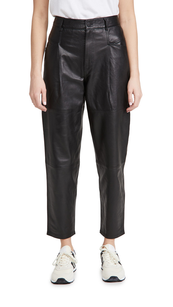 Closed Pearl Trousers in black