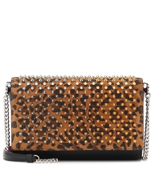 Christian Louboutin Paloma embellished shoulder bag