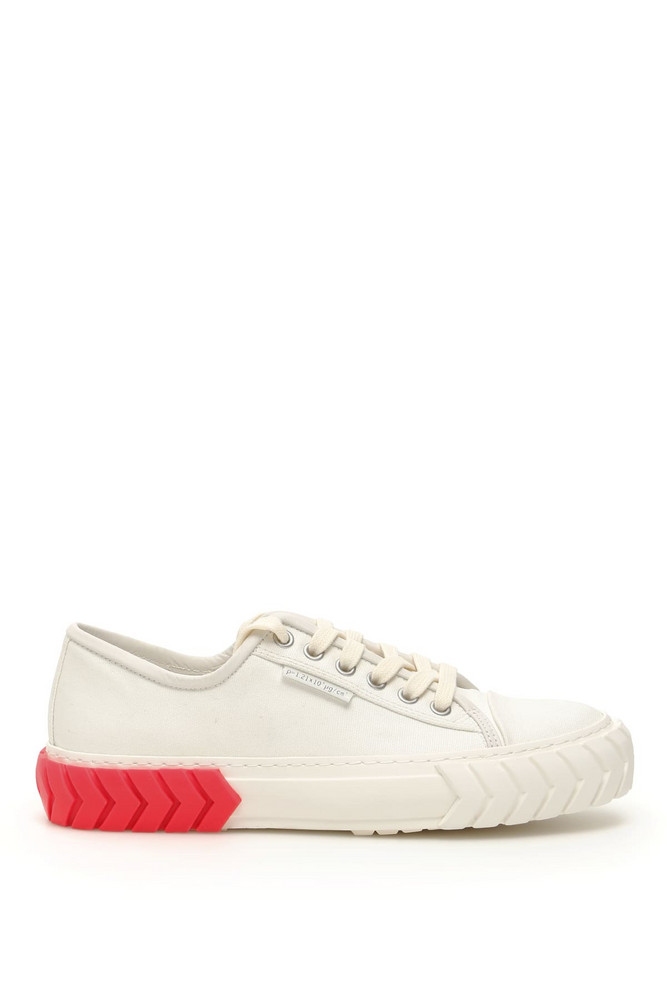 Both Low Tyres Sneakers in pink / white