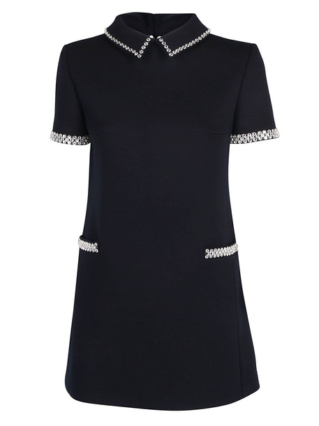 Saint Laurent Mini Dress in noir