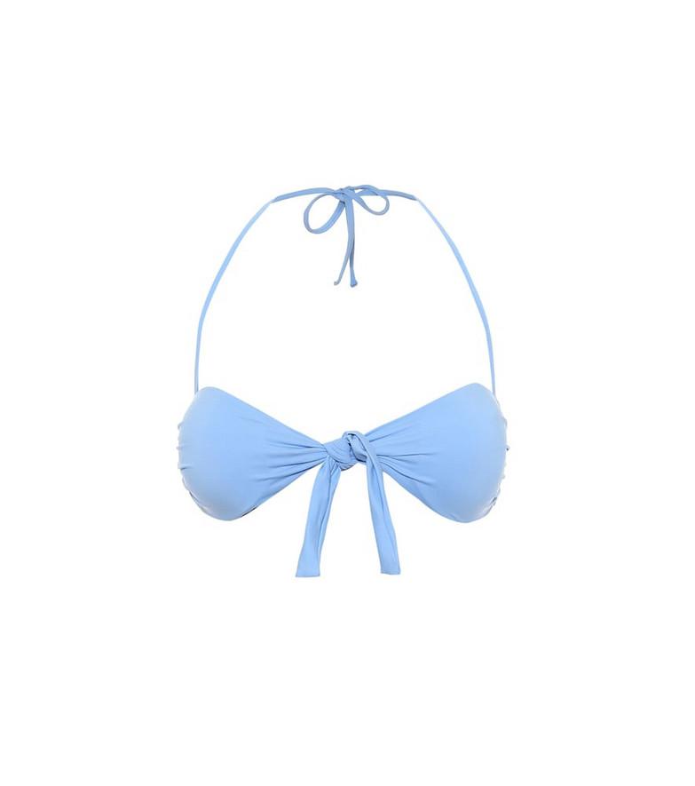 Melissa Odabash Exclusive to Mytheresa – Caribe bikini top in blue