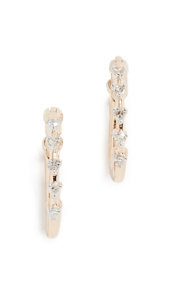 Adina Reyter 14k Diamond Huggie Earrings in gold