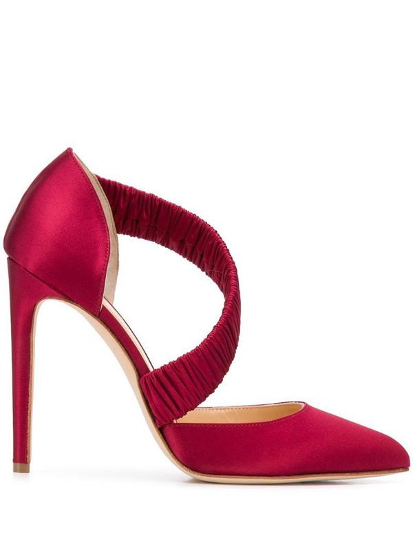 Chloe Gosselin Lucile 110mm pumps in red