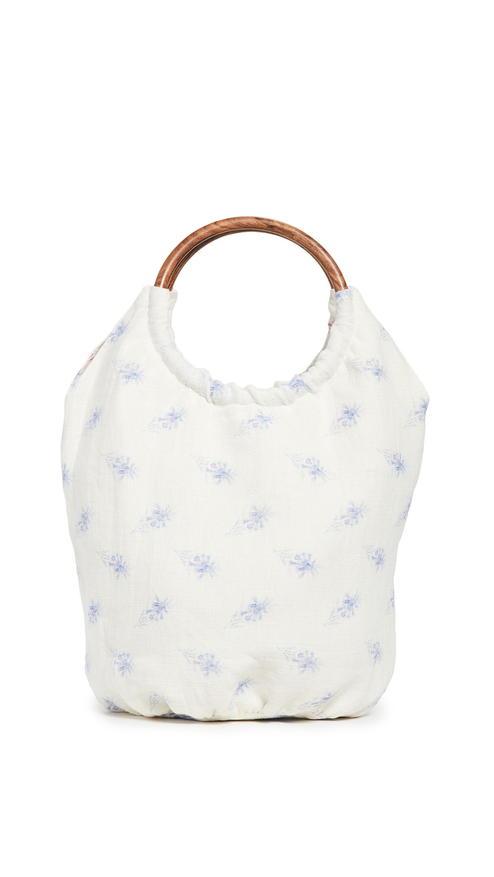 LOVESHACKFANCY Fae Bag in blue