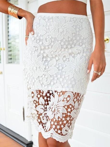 skirt white white skirt net flowers flower design short skirt overlay summer style gorgeous pretty