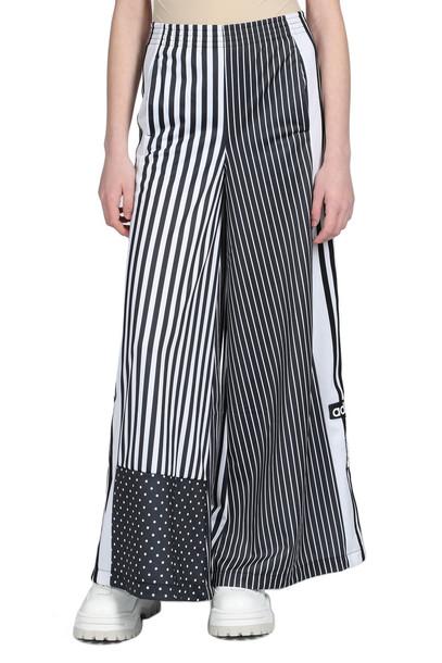Adidas Originals Trousers in nero / bianco