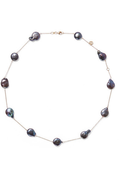 Charms Company - 14-karat Gold Pearl Necklace