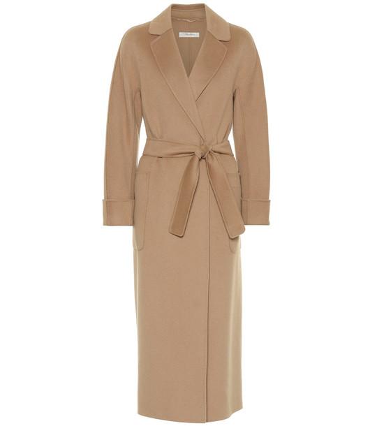 S Max Mara Algeri double-face wool coat in beige