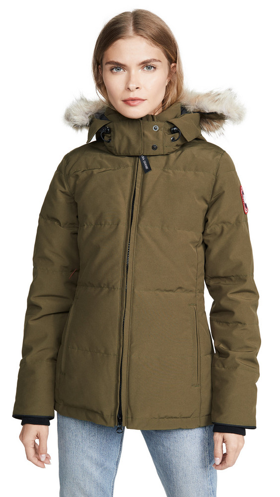 Canada Goose Chelsea Parka in green