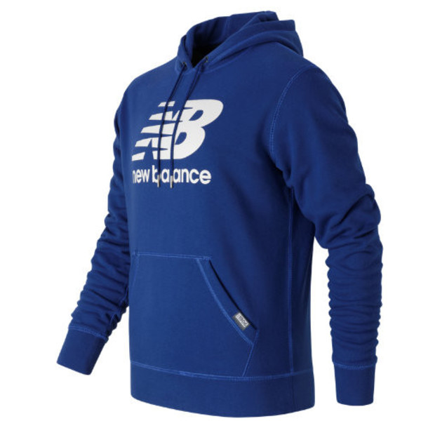 New Balance 63551 Men's Classic Pullover Hoodie - Blue (MT63551AT)