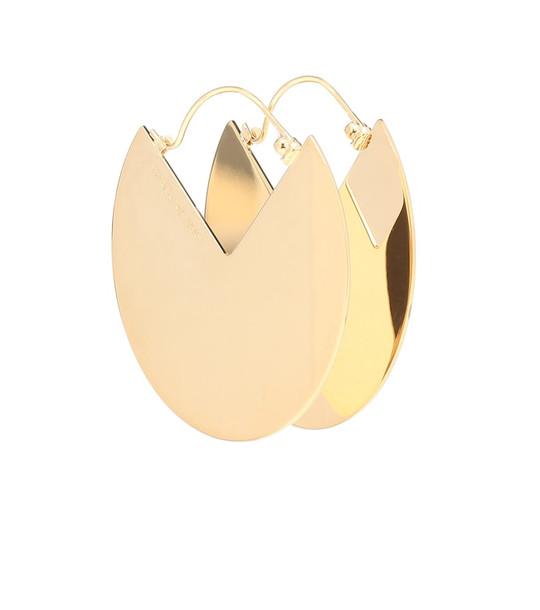 Isabel Marant 90° drop earrings in gold