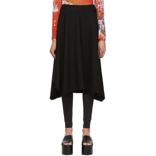 Issey Miyake Black APOC Solid Skirt