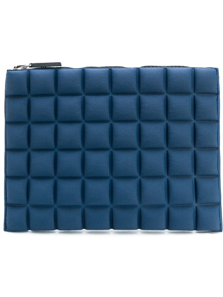 No Ka' Oi waffled pouch in blue