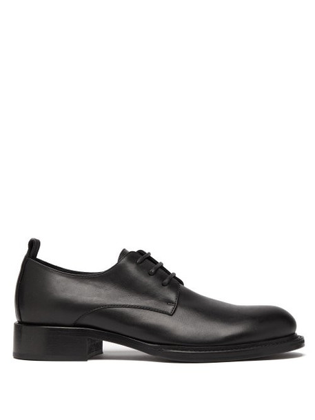 Ann Demeulemeester - Leather Derby Shoes - Womens - Black