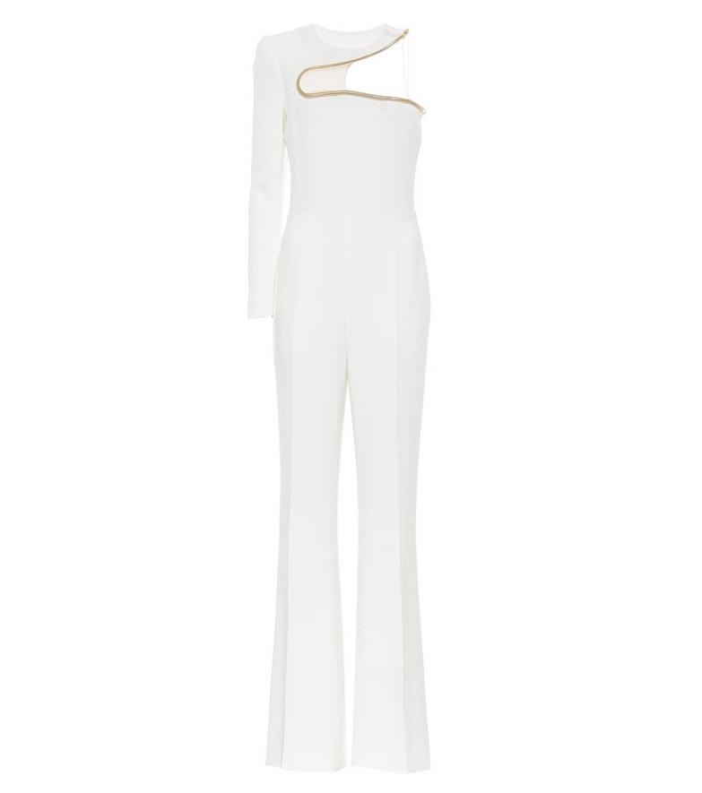 Stella McCartney Lyta one-shoulder jumpsuit in white