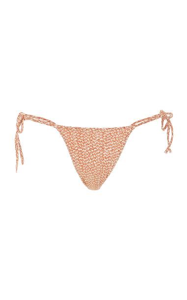 Tropic of C Praia Printed Bikini Bottom Size: M