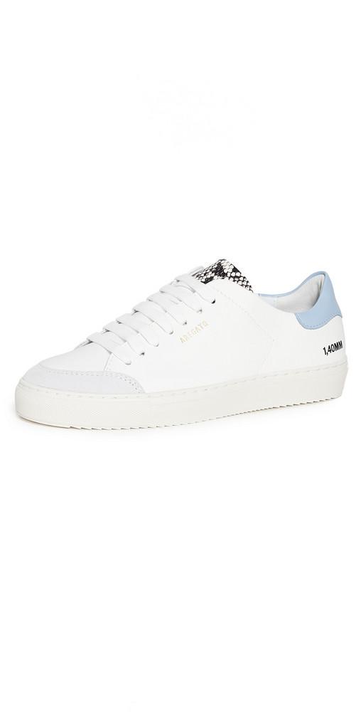 Axel Arigato Clean 90 Triple Sneakers in blue / white