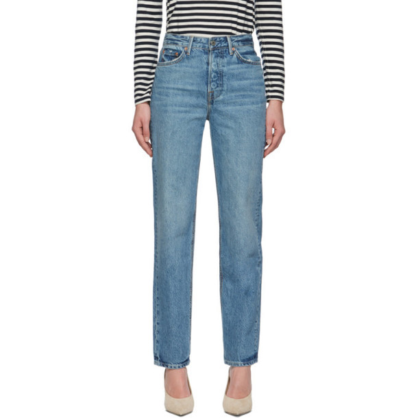 Grlfrnd Blue Mica Jeans