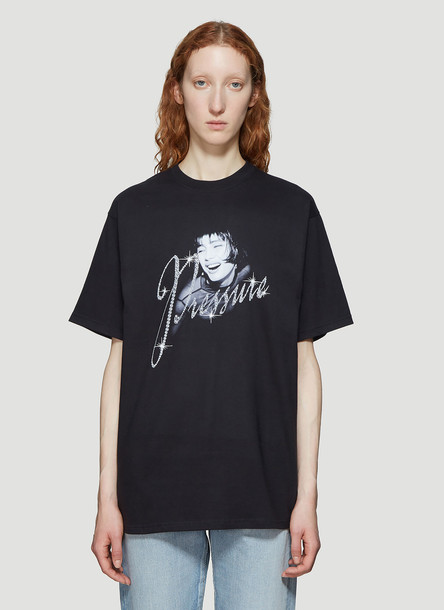 Pressure Bling T-Shirt in Black size XL