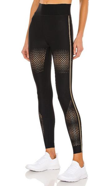 ultracor Diamond Mesh Ultra High Legging in Black in nero / gold
