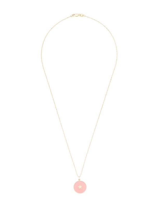 Andrea Fohrman 18kt yellow gold star pendant necklace