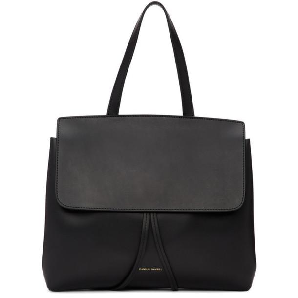 Mansur Gavriel Black Mini Lady Bag