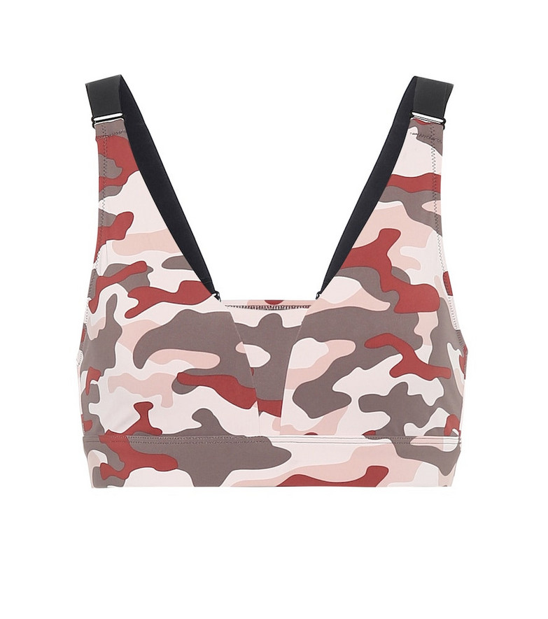 Varley Bromley camo performance top in pink