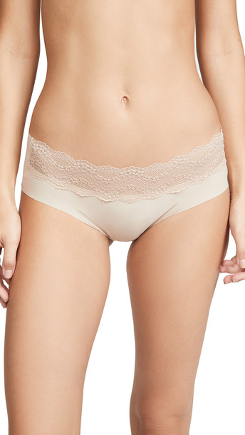 b.tempt'd by Wacoal B. Bare Hipster Panties in natural