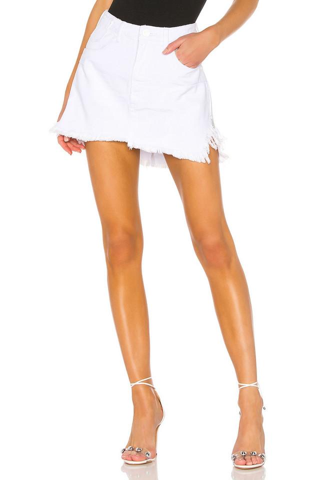 One Teaspoon Vanguard Skirt in white