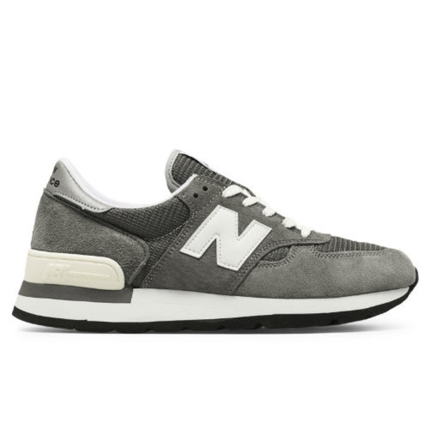 New Balance Made in US 990 Bringback Men's Made in USA Shoes - Grey/White (M990GRY)