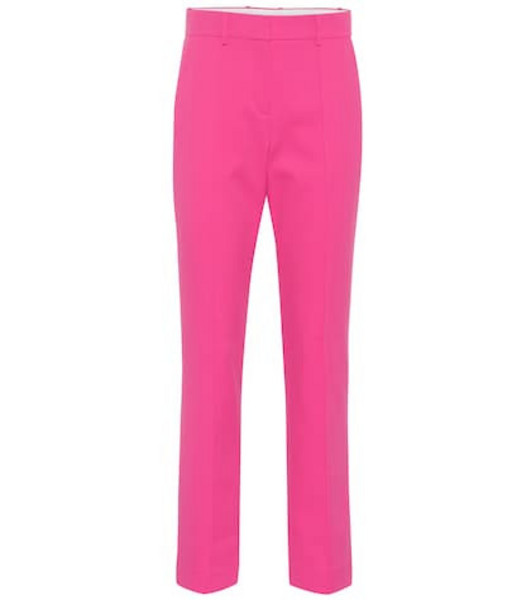 Tory Sport Technical mid-rise pants in pink