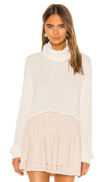 Tularosa Kayla Sweater in Ivory