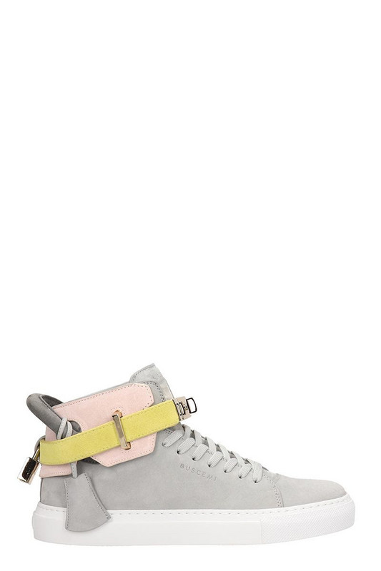 Buscemi 100mm High-top Sneakers in grey