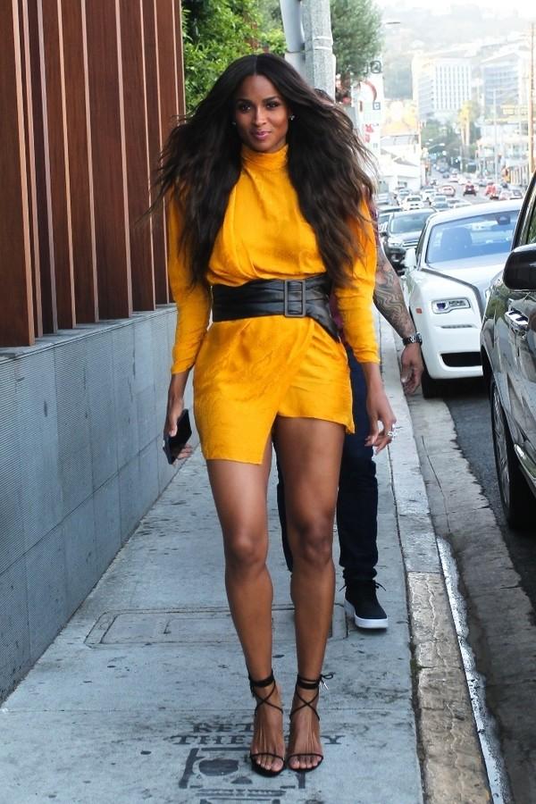 dress asymmetrical asymmetrical dress ciara mini dress orange orange dress belt