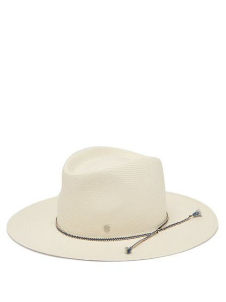 Maison Michel - Charles On The Go Straw Hat - Womens - White