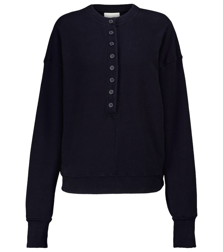 Citizens of Humanity Cora cotton sweatshirt in blue