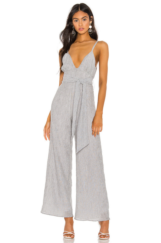 Privacy Please Junipero Jumpsuit in gray