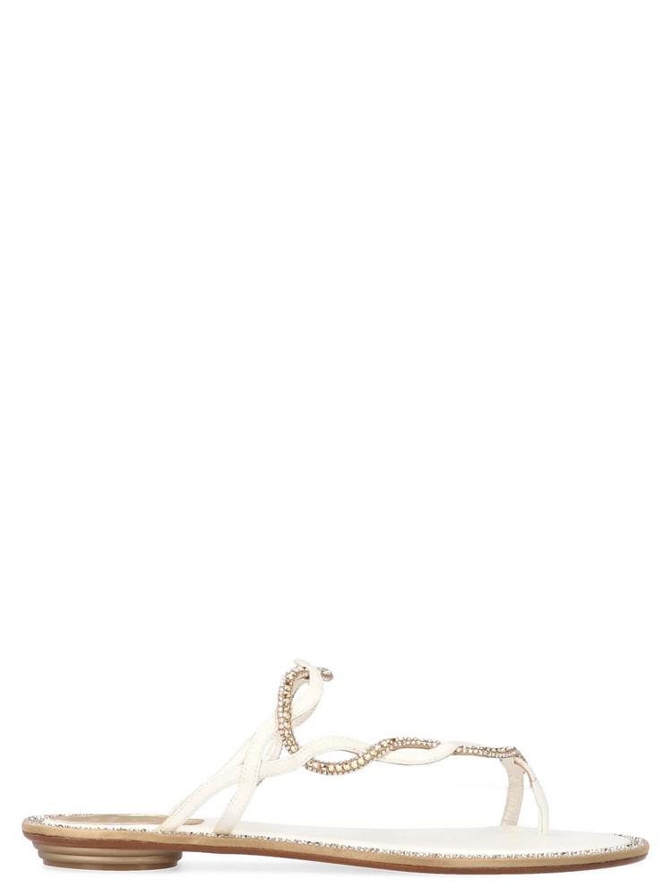 René Caovilla 'serpiana' Shoes in black / white