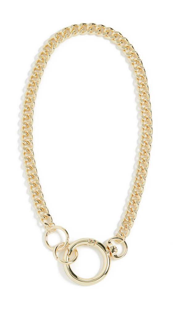 Jules Smith Keychain Necklace in gold