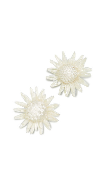 All Things Mochi Sunny Earrings in cream