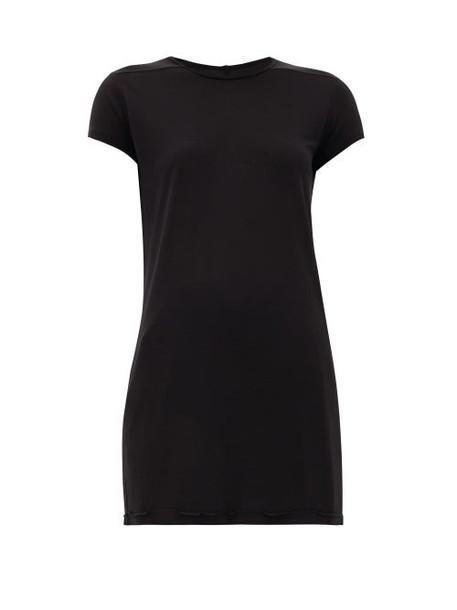 Rick Owens - Level Longline Jersey T-shirt - Womens - Black